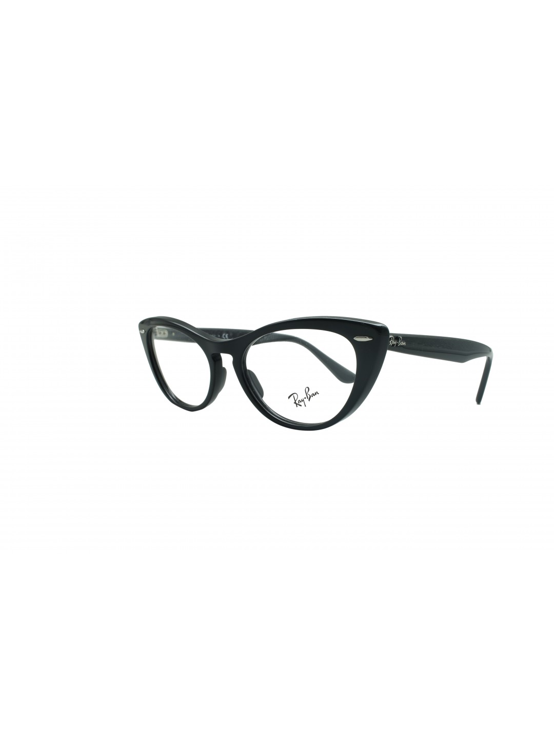 RayBan RB 4314 2000 Cat Eye Black Full Frame With Acetate