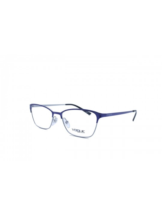 Vogue VO 3989 I 988 Cat Eye Silver Full Frame With Stainless Steel