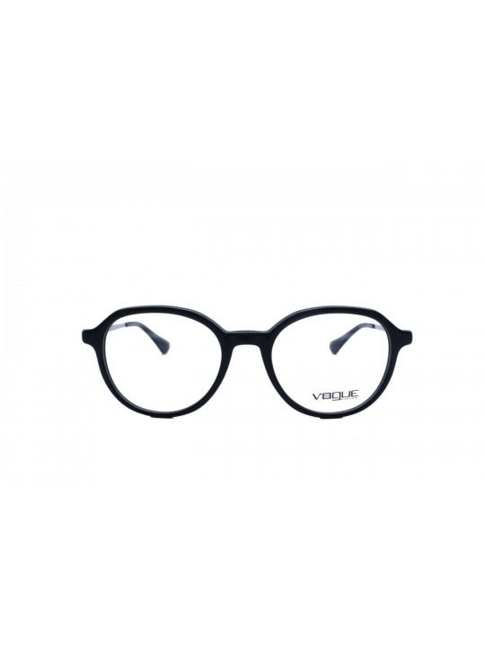 Vogue VO 5247 I W44 Round Black Full Frame With Acetate
