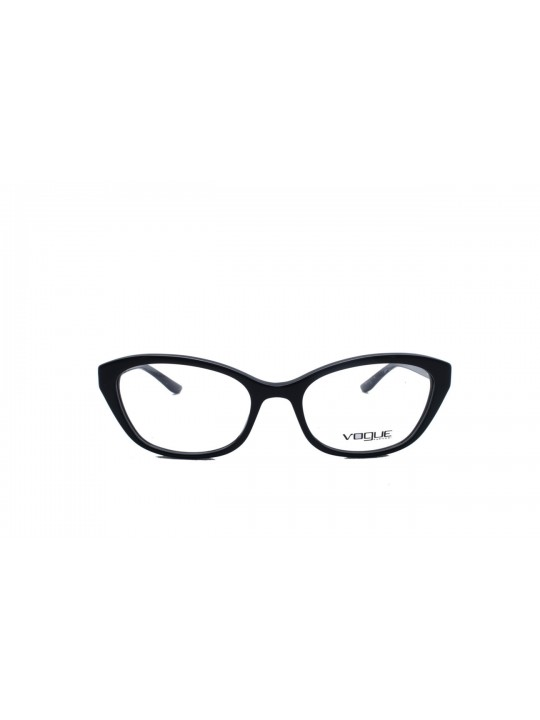 Vogue VO 5263 BI W44 Cat Eye Black Full Frame With Acetate