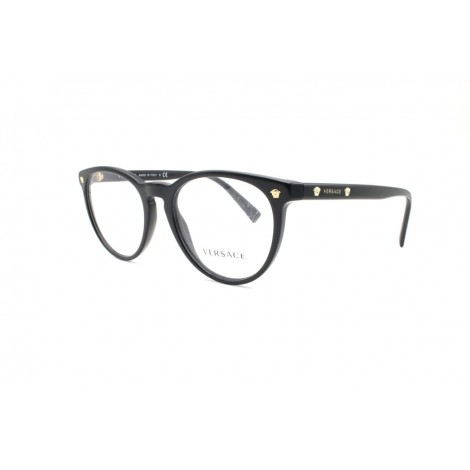 Versace Mod. 3257 GB1 Oval Full Frame Black