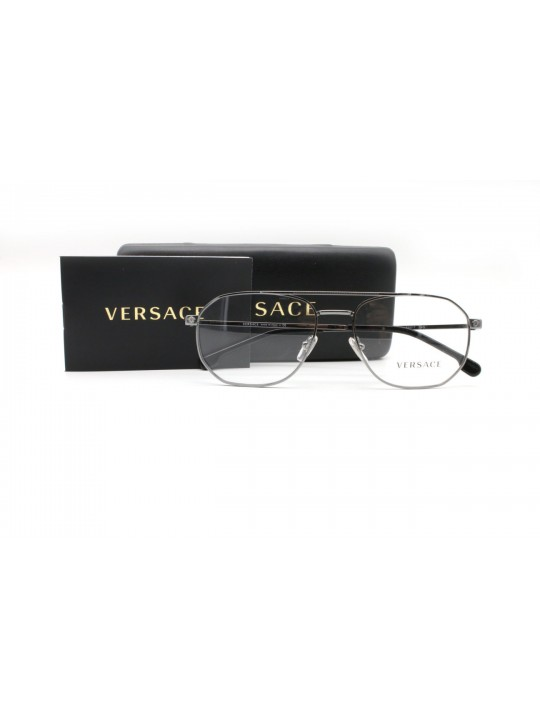 Versace MOB. 1252 1001 Premium Full Frame With Stainless Steel