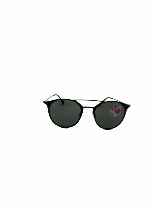 RayBan RB 3548 188/9A 3P Round Black Full Frame With Stainless Steel