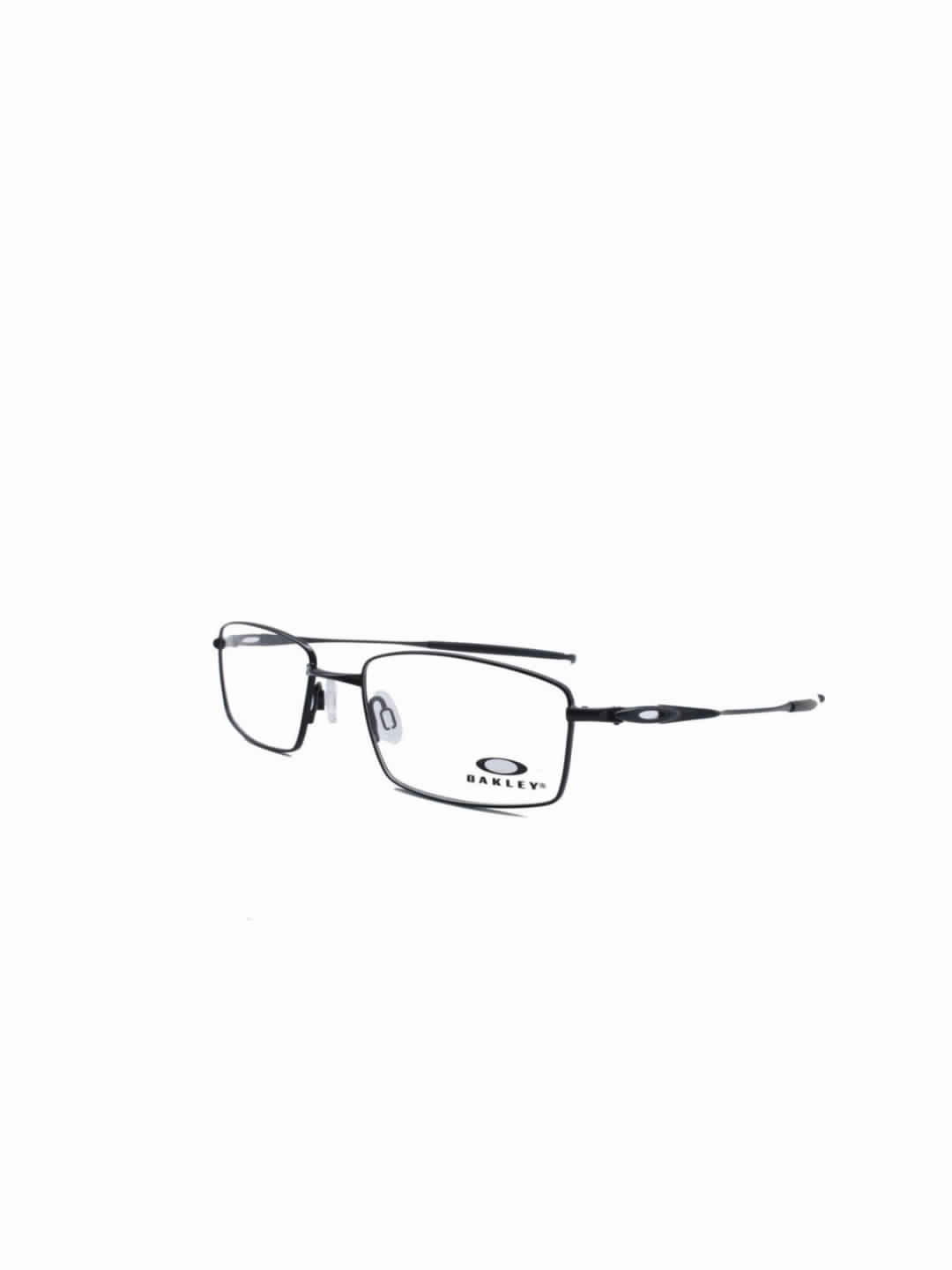Oakley OA 5140 0254 Rectangle Brown Half Frame With Stainless Steel