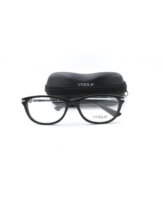 Vogue Vo 2925-BI W44 Black Cat Eye Full Frame Acetate