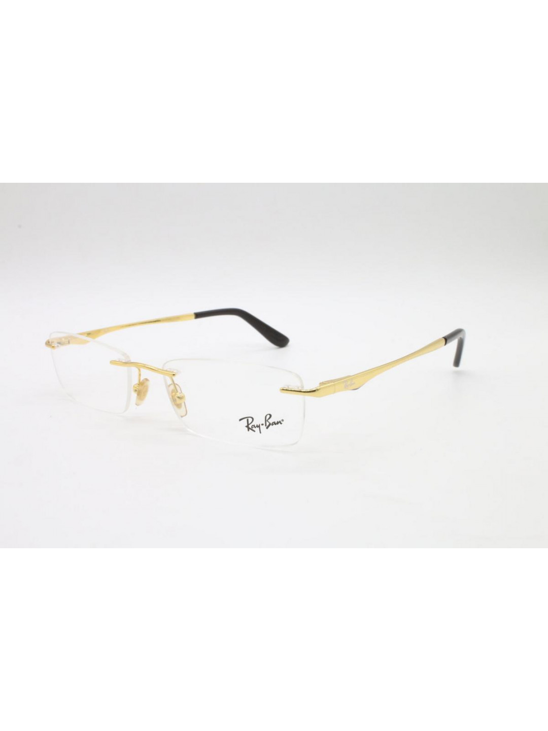 RayBan RB 6303 I 2500 Golden Rimless With Metal
