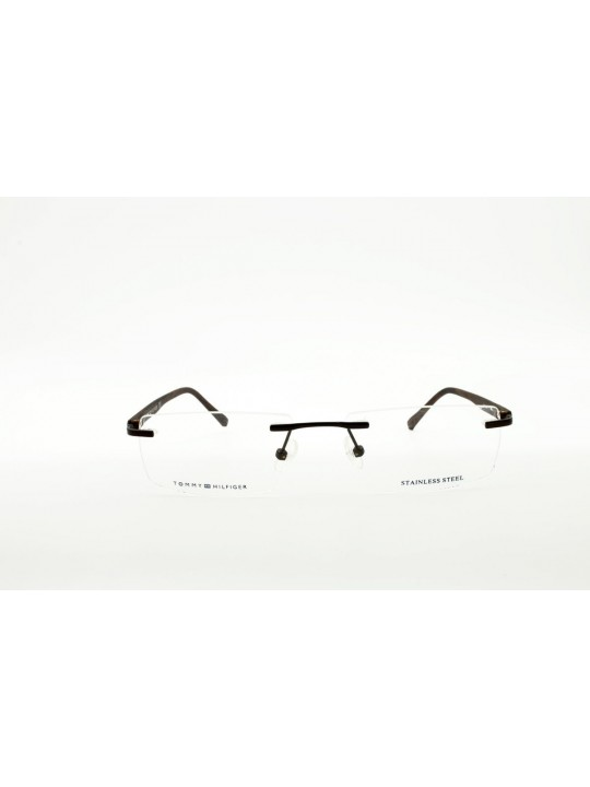 Tommy Hilfiger TH 5712  I C3 Rectangle Brown Side RimLess