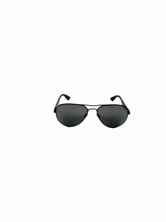 RayBan RB 3523 006/6G 3N Oval Black Full Frame With Stainless Steel