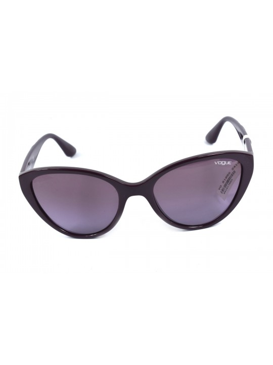 Vogue VO 5105-S 24188 2N Cat Eye Shape Wine With Acetate Material Full Rim