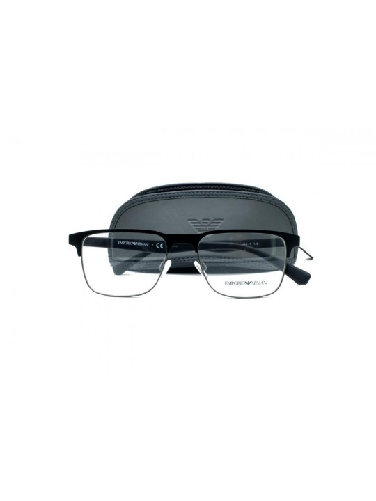 Emporio Armani EA 1061 3001 Square Black Full Frame Sheet