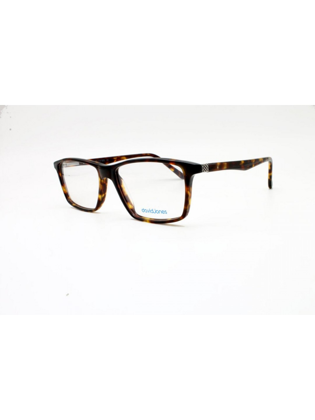 David Jones DJ 2031 Rectangle Brown Full Frame Rich Plastic